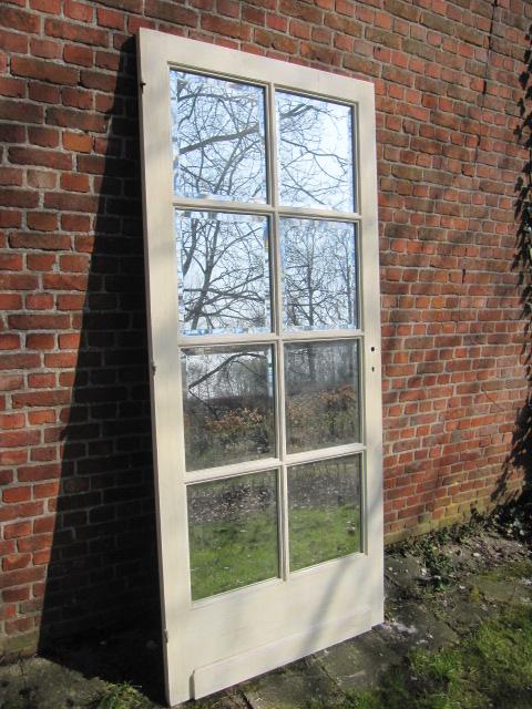 deur met spiegelglas
