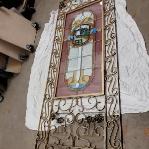 rozen frame, spiegelkader, bronzen metalen kader