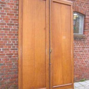 dubbele eiken deuren