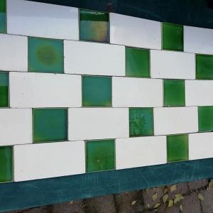 cremewit 7,5x15 antieke wandtegels