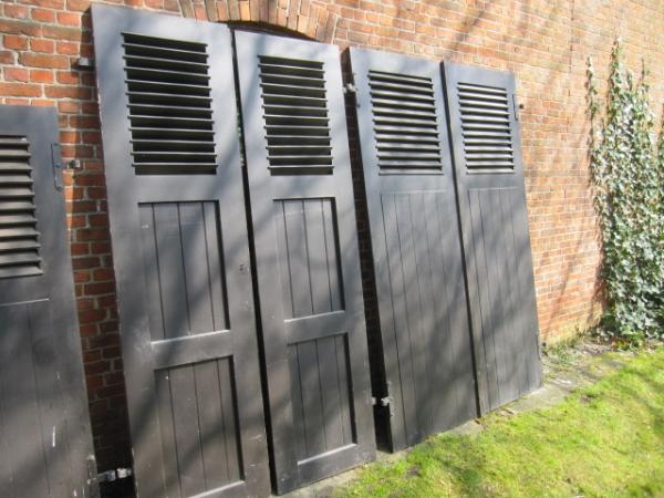 luiken, shutters, oude luiken