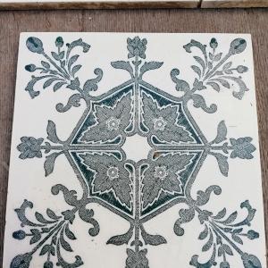 Antieke wandtegels, art nouveau wandtegels, art deco wandtegels, antieke muurtegels, jaren dertig tegels, antieke witjes, oude witjes