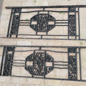 antieke raamhekken, antieke raamroosters, franse balkonhekken