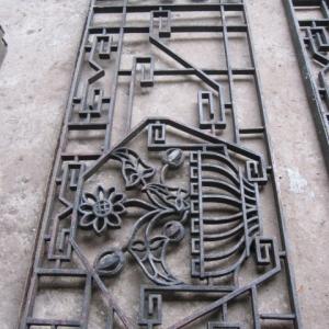 raamrooster, raamhek, frans balkonhek