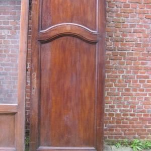 twee eiken binnendeuren