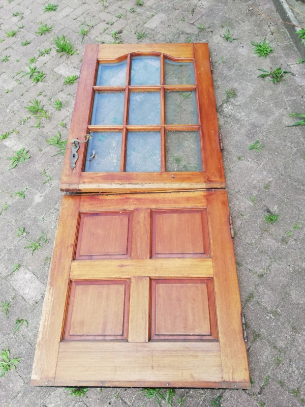 halve deur, twee delige deur